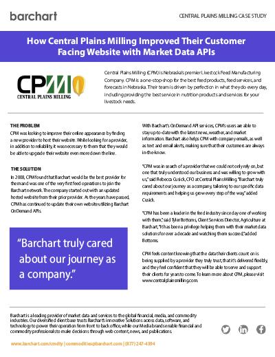 Download Case Study: Central Plains Milling (CPM)
