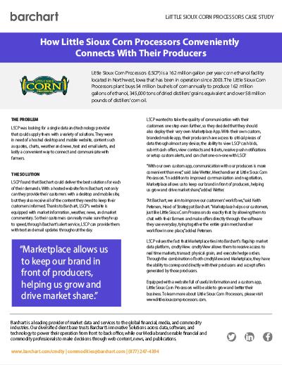 Download Case Study: Little Sioux Corn Processors