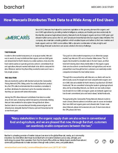 Download Case Study: Mercaris