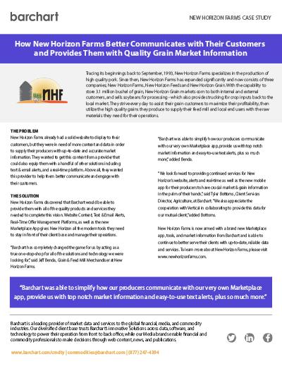 Download Case Study: New Horizon Farms