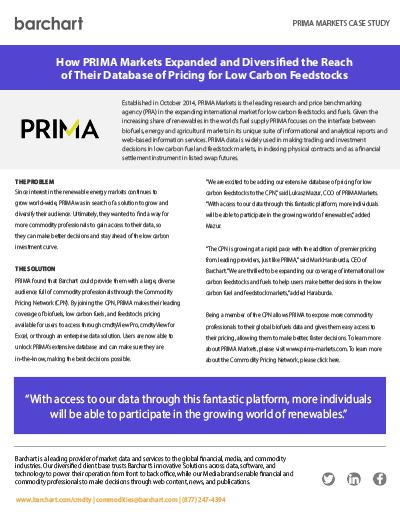 Download Case Study: PRIMA Markets