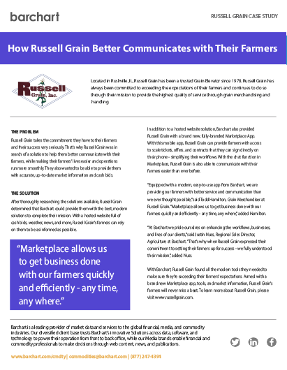 Download Case Study: Russell Grain