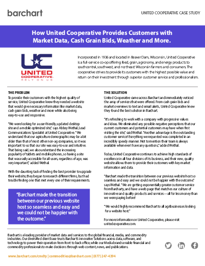 Download Case Study: United Cooperative