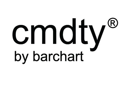 white cmdty logo