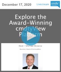 Explore the Award-Winning cmdtyView Platform