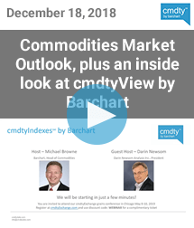 Commodities Market Outlook for 2019 plus an Inside look at cmdtyView