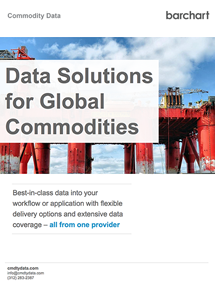 Data Solutions for Global Commodities