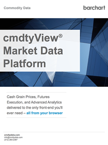 cmdtyView Market Data Platform