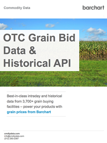 OTC Grain Bid Data and Historical API