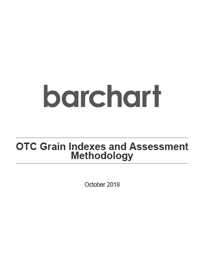OTC Grain Indexes and Assessments Methodology