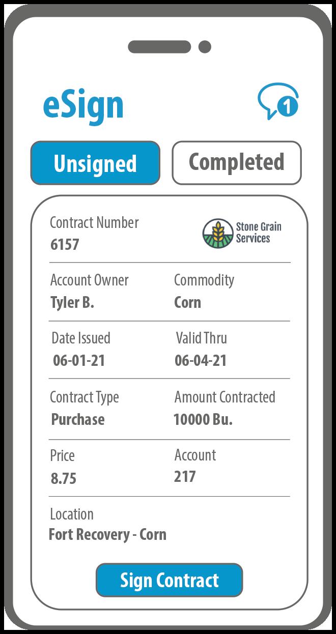 Grain Marketplace Demo: eSign