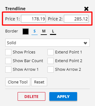 Price Precision on Tools
