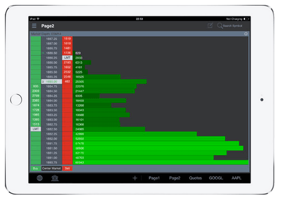 Barchart Trader for iPad